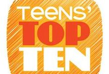 YALSA's Teens' Top Ten Books / Learn about the top young adult books and 2014 and vote for your favorite!