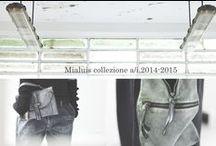 Lookbook A/W 2014-2015 / Collezione Mialuis Autunno Inverno 2014-15.