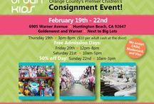 February 19th-22nd, 2015 / Do you want to buy gently used children's items at 50-90% off retail?    Urban Kids Consignment is a 4-day event hosted just 4 times a year.   With over 30,000 items, from 200 families, all under a 16,000 sq foot roof, you are sure to find what you need.