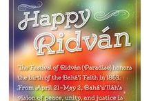 Ridvan Festival   Brilliant Star / Baha'i Festival of Ridvan, April 21-May 2
