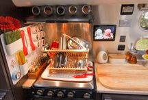 RV Tips & Tricks / How to make a small space functional in an RV