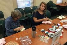 Crafty Library Programs / Here are a few examples of craft programs happening at the Alamance County Public Libraries