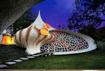 Sustainable Design  / Sustainable homes, buildings, interiors and earthships