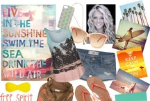Polyvore / Boards created on Polyvore by myself in my spare time or others