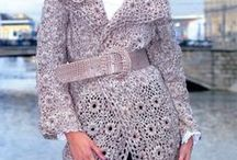casacos de croche / by Elisabete DE  Oliveira