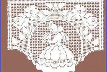 cortinas e bandôs de croche / by Elisabete DE  Oliveira