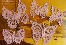 borboletas de croche