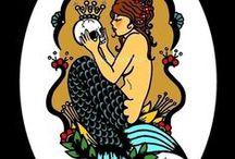 tatouage / sirène