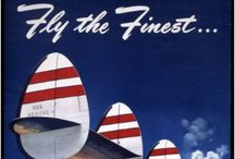 Vintage Airline ads and posters