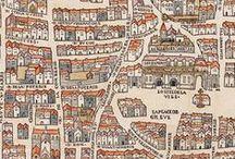 Mapas e cartografia / Mapas e arte cartográfica de diferentes períodos e locais.