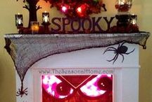 Spooky! / Spooktacular ideas for the scariest day of the year. Halloween DIY, fashion, crafts, humor, makeup ideas, recipes. Boo!