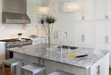 White Hot Spaces / Bright, cheery and classic white.