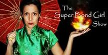 """The Super Bond Girl Show / Welcome to my show! I launched my own video/podcast show and it has been a blast for me to share my experiences with you. """"The Super Bond Girl Show"""""""
