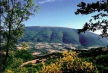 Monte Subasio / Nel cuore dell'Umbria, il monte Subasio, terra di San Francesco.