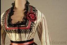 1860's womans fashion / by Jessie Ratledge