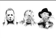 Horror: Icons, Slashers & More / Icons from horror, slasher, gore, etc films. / by Ash Von Horror
