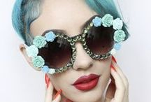 Eyeware - All Eyes On You / Spotted on the hottest runways & on the eyes of the most renowned fashion icons, Eyewear has become a must-have accessory for both guys and gals. Wearing specs & sunnies is the perfect way to play up your peepers & give any outfit a boost. Whether you sport geeky chic optics or oversized aviators, you're advocating Eyewear trends ~ perhaps unknowingly. True, glasses help us to see, & protect our precious eyes from the sun's glare. But most importantly, they are everyone's favorite accessory.