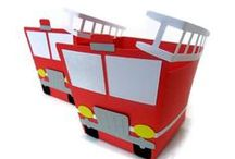 2014 Party  / Thinking a fire engine/fire fighter theme
