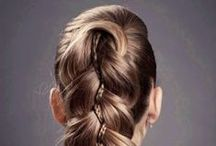 Hair Updos & Intricate Styling / Be oh-so-sleek and stylish with a classic up-do this season. If your hair is long or short, thick or thin an Updo can take you from playdate to date night with ease. Whether you are a pro at mastering the sophisticated high ponytail, elegant chignon, or even the hair bow that Lady Gaga made so popular, or you tend to steer clear of complicated Updos in favor of simple waves or natural curls, these mind-blowing Updos & Intricate Styles will make you want to experiment with your hair.