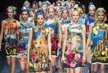 Dolce & Gabbana / The Italian fashion house Dolce & Gabbana also known as D & G was started by designers Domenico Dolce, born 8/13/1958 in Polizzi Generosa,Sicily & Stefano Gabbana, born 11/14/1962 in Milan.