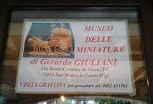 Il Museo delle Miniature di San Marco in Lamis / Museo della civiltà contadina, realizzato da Gerardo Giuliani di San Marco in Lamis
