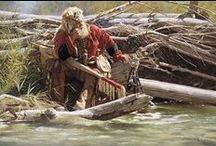 Trappers, Mountain Men, Miners & Loggers  / by Lucille Kerner