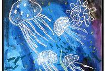 Thema zee en waterdieren