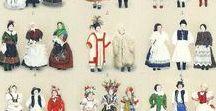 Costumi / Costumes / Abiti, accessori e tessuti tradizionali dal mondo