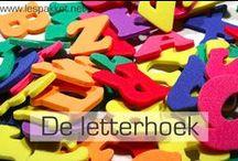 Kleuters: letters en klanken