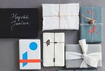 Gift Wrapping / There is nothing better than to receive a fun or beautifully wrapped gift!