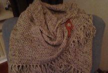 Shawls en stola's / Haken van omslagdoeken en shawls