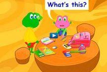 Kleuters leren Engels