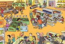 Thema supermarkt