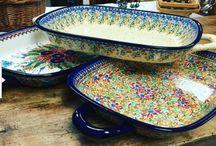 Bakeware - Polish Pottery / Oven & Microwave Safe Polish Pottery