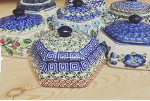 Jars & Containers - Polish Pottery