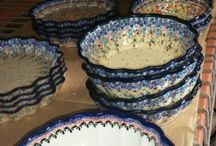 Bowls - Polish Pottery / Oven & Microwave & Dishwasher Safe Polish Pottery Bowls