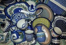You Can Never Have Too Much Polish Pottery / We just love living with Polish Pottery!