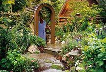 Unique garden ideas / by Vicki White