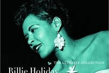 BILLIE❤️HOLIDAY- Vocalist / Born April 7, 1915 - July 17, 1959 Aged 44 Cause: Pulmonary edema and heart disease / by Cheryl Adair