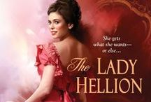 The Lady Hellion / Regency historical romance, now available from Kensington Books.