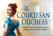 The Courtesan Duchess / Regency historical romance, now available from Kensington Books.