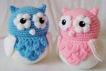 amigurumi / manualidades tejidas para niños