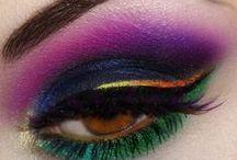 Maquillage / Maquillaje fantasía , ojos