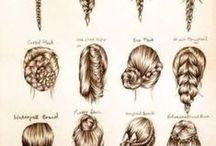 Cabello / Diferentes trenzas y peinados para novias