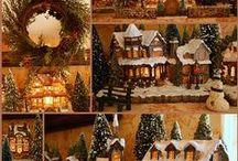 Villas de Navidad y pesebres / Maquetas navideñas