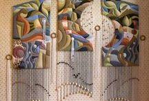 Texturas y Textiles / Telar - tapiz - estampados