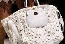 Crochet  bolsos / Manualidades tejidas