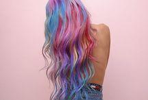 Creative Colour / Pastel,vibrant, purple, blue and pink. We're crazy about creative colours!