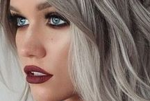 Icy Greys & Sultry Silver / Want to dare to be different but not stand out too much from the crowd? Try a cool ashy tone!