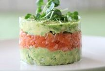Salmon / Inspirational recipes and photos of dishes featuring salmon.
